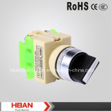 CE RoHS 22mm Plastic Selector Switch