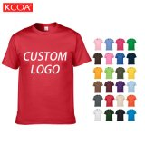 Wholesale Plus Size Custom Logo Graphic Printing Blank Plain Men Cotton T Shirt