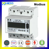 DIN Rail Kwh Meter RS485 Modbus for Solar Power Supply System 5/32A 230V Wireless