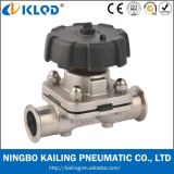 Sanitary Diaphragm Water Valve, Hand Control, Water, Air