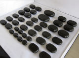 Massage Basalt Stone Set/Bamboo Case/Wooden Case/Brown Card Box