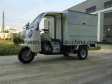Box Tricycle for Delivery with Front Cabin