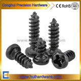 DIN Carbon Steel Black Cross Recessed Pan Head Self Tapping Screws /Phillip Tapping Screw/Pan Head Self Tapping Screw