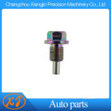High Precision CNC Aluminum Chromed Oil Tank Screw