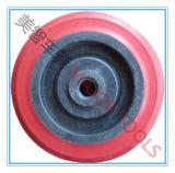 Good Quality 4 Inch Plastic Hard Rubber Toy Trolley Wheel 4*1.25
