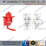 Single Forging Container Revolving Twist Lock for Truck and Trailer