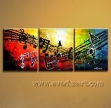 Abstract Canvas Art Music Abstract Paintings for Home Decor (Xd3-202