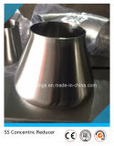 Polished Sanitary Stainless Steel SS304 Pipe Fitting Reducer