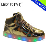 Kids Sports Running LED Light Shoes or Boots with Flash Light