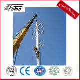 Dodecagon 14m Steel Galvanized Power Pole