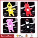 Cartoon Design Car Phone Holder with Three-Side Grips and Adjustable Function