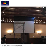 Large Electric Projection Screen with Large Torque Tubular Motor and Multiple Control Mode