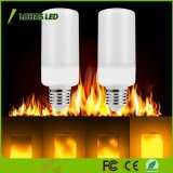 Color Flaming LED Bulb 5W E26 Flame Effect LED Bulb for Christmas Party Decoration
