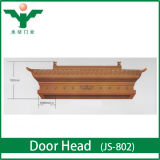 Luxury Villa Fancy Wood Front Door Head Designs in Pakistan