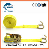 Ratchet Tie Down / Lashing Tow Strap Claw Hook Cargo Lashing