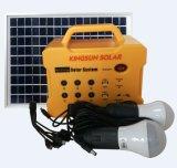 10W/15W/20W Portable DC Solar PV/Panel/Energy/Home/Power System with MP3/FM Radio