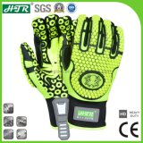 Htr 0523 TPR Impact Resistant Anti Slip Industrial Mechanical Safety Work Gloves