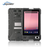 8 Inch Android Barcode Scanner Fingerprint Industrial Rugged Tablet