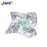 2020year The Latest Printed Silk Square Scarf