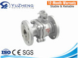 Stainless Steel 2PC Ball Valve with Pn16 Flange End
