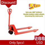 Factory Discount Price Manual Pallet Truck 3 Ton 5 Ton Cheap Hand Pallet Trucks with Ce ISO High Value for Money