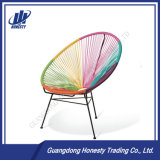 PE-RC03 Hot Sale Mixed Color Lounge Egg Shape Rattan Rocking Chair