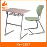 Solid Top University Student Classroom Chair and Table