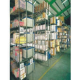 NSF Heavy Duty Steel Plate Pipe Warehouse Storage Rack