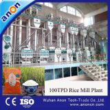 Anon 100tpd Fully Automatic Rice Mill Machine