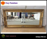Hotel Wooden Mirror Frame with Antique Design