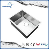 Stainless Steel Fancy Hand Made Kitchen Sink (ACS6045R)