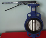 Cast Iron Butterfly Valve with Lever