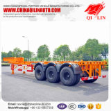Factory Wholesale 50 Tons 40 Feet Skeletal Truck Semi Trailer
