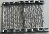 Cleated Conveyor Belt Stainless Steel / 304ss Wiremesh Conveyor (XM-433)