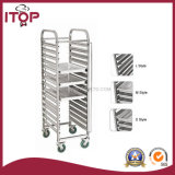 Stainless Steel Single Row 12 / 15 Layers Tray Trolly (TR-T)