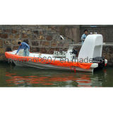 Marine F. R. P Rescue Boat for Rescuing