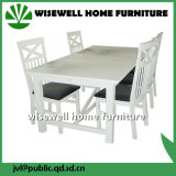 Solid Pine Wood Dining Room Furniture Set