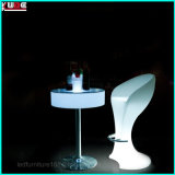 LLDPE PE LED Garden Lighting Hotel Furniture Bar Chairs