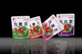 Plastic Standing Vegetable Food Retortable Packaging Pouch