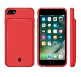 Portable Fashion Full Cover Battery Case for iPhone 6 7 8 X