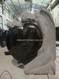 Famous Angel Granite Tombstone & Mounument with Heart Shape