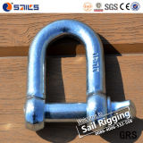 Open Forged Galvanized Europeanlarge Dee Shackle