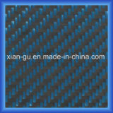 Blue PARA Aramid Carbon Fiber Hybrid Cloth