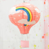 Party Supply Decoration Hot Air Balloons Paper Lantern Pattern