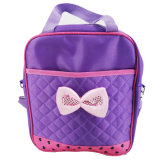 Best Price Existing Sized Polyester Backpack with Bowknot