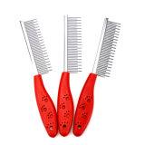 Wholesale Short Stainless Steel Teeth Pet Single Row Comb