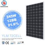 Hot Sale Yingli ISO12bb 345W Monocrystalline Solar Panel for Roof Tiles with Cost Price in Dubai