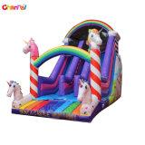 2019 New Design Unicorn Inflatable Slide for Kids