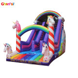 2021 New Design Unicorn Inflatable Slide for Kids