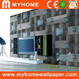 Home Decoration Stone 3D PVC Wall Paper for Building Material